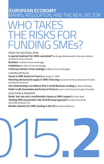 Who Takes the Risks for Funding SMEs?